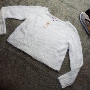 Decree Cropped sweater sz XL